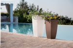 Stilo Tall Tapered Square Planters